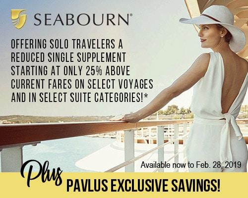 Pavlus offering Seabourn savings