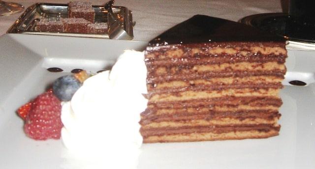 Fabulous food on Oceania Cruises