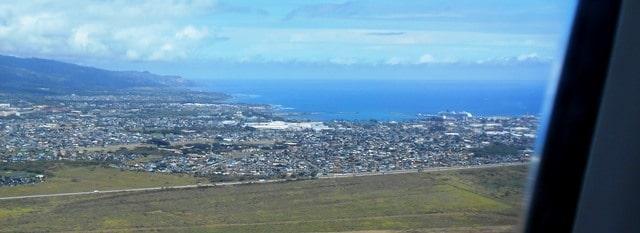 Maui landing
