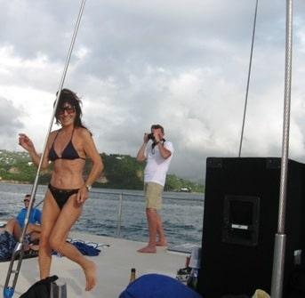 Shore excursion in St. Lucia