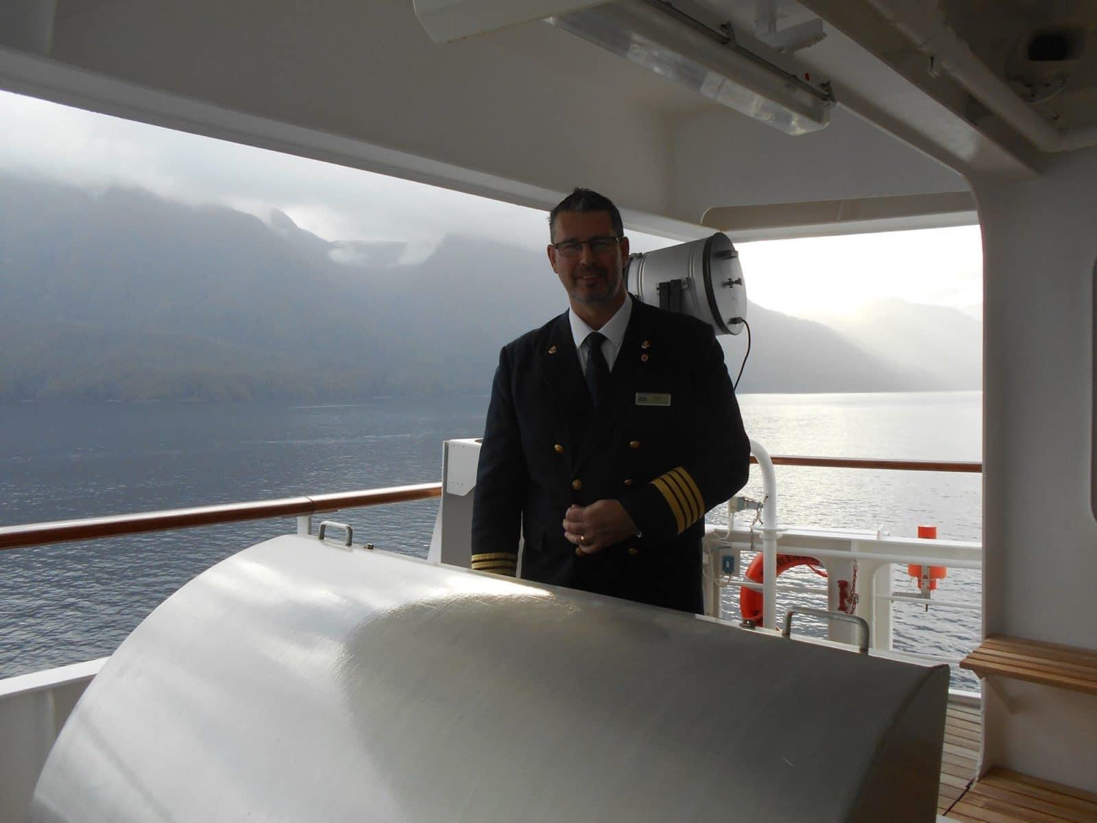 Captain of RSSC Mariner