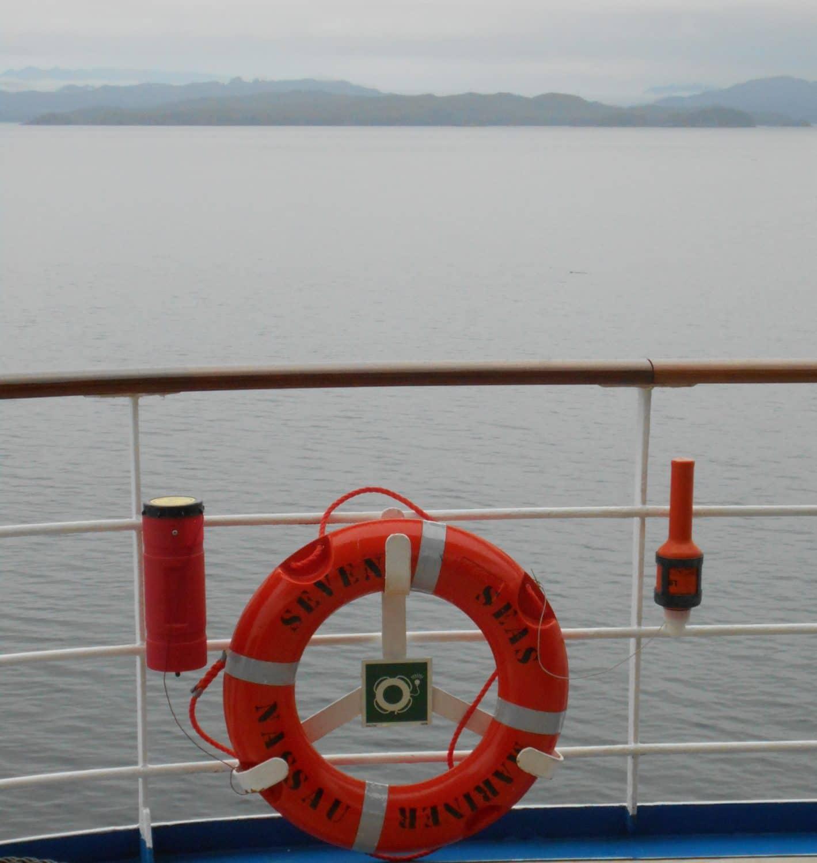 On Board the Regent Seven Seas Mariner