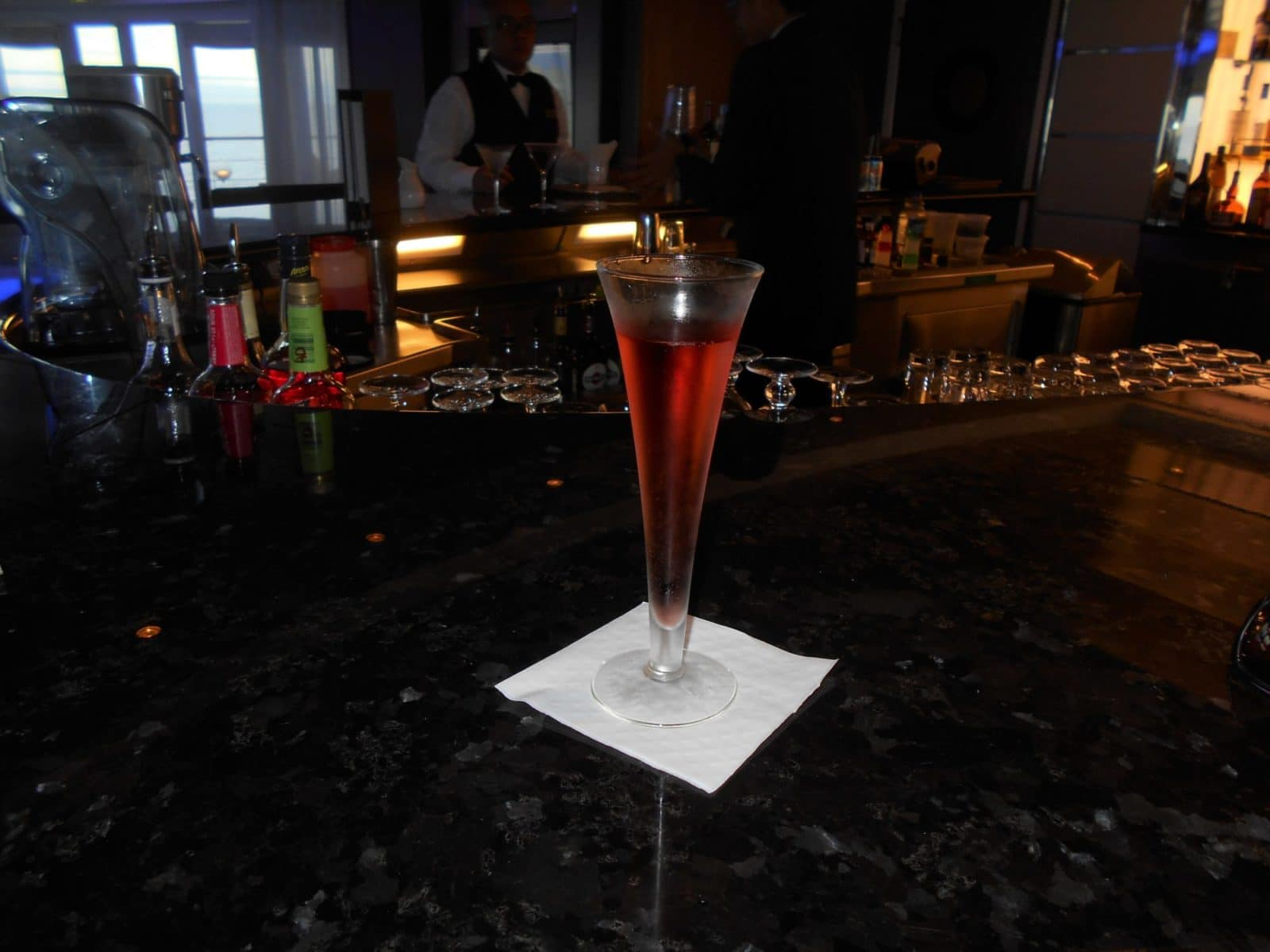 Drink on the Regent Seven Seas Mariner