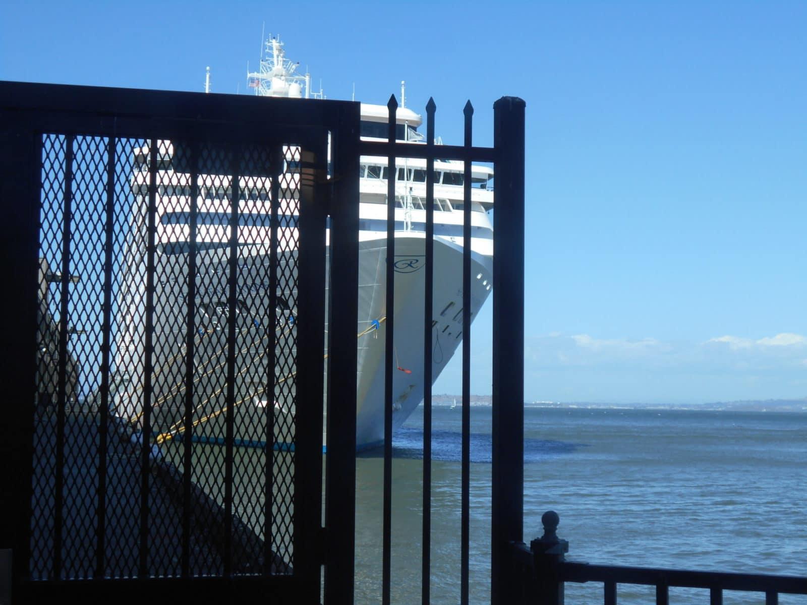 Mariner docked in San Francisco