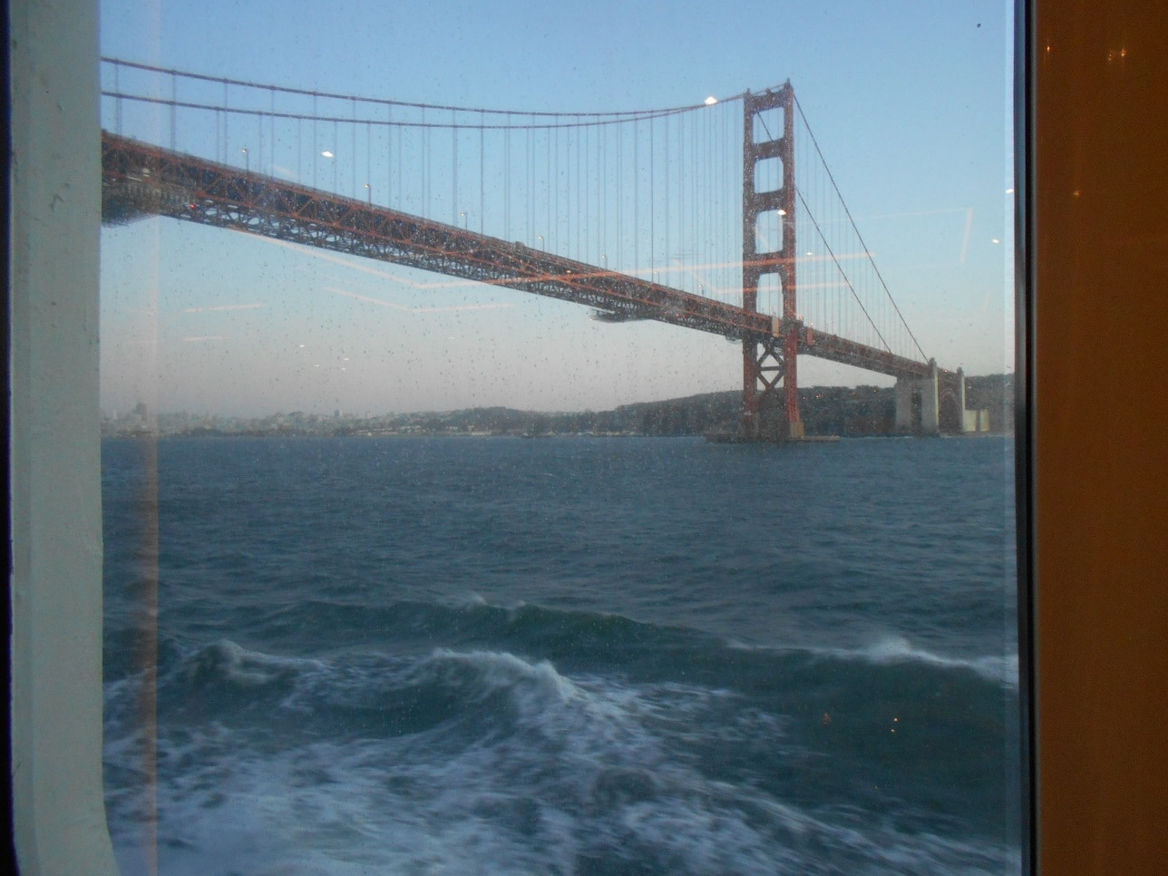 Leaving SFO on Regent Seven Seas Mariner