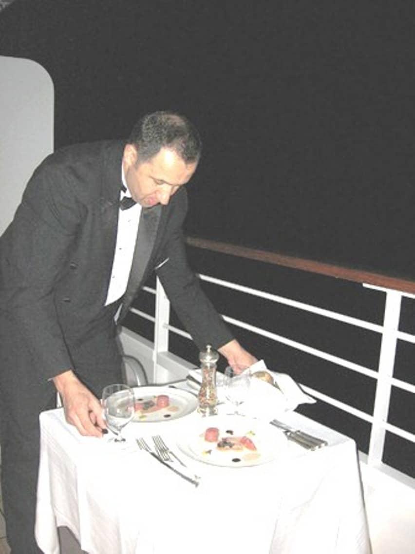 Silversea Cruise Dining