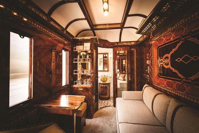 Riding the Orient Express
