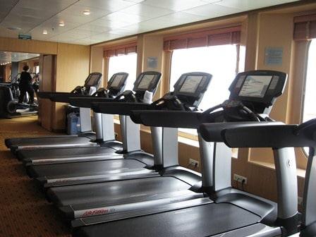 Gym at Sea