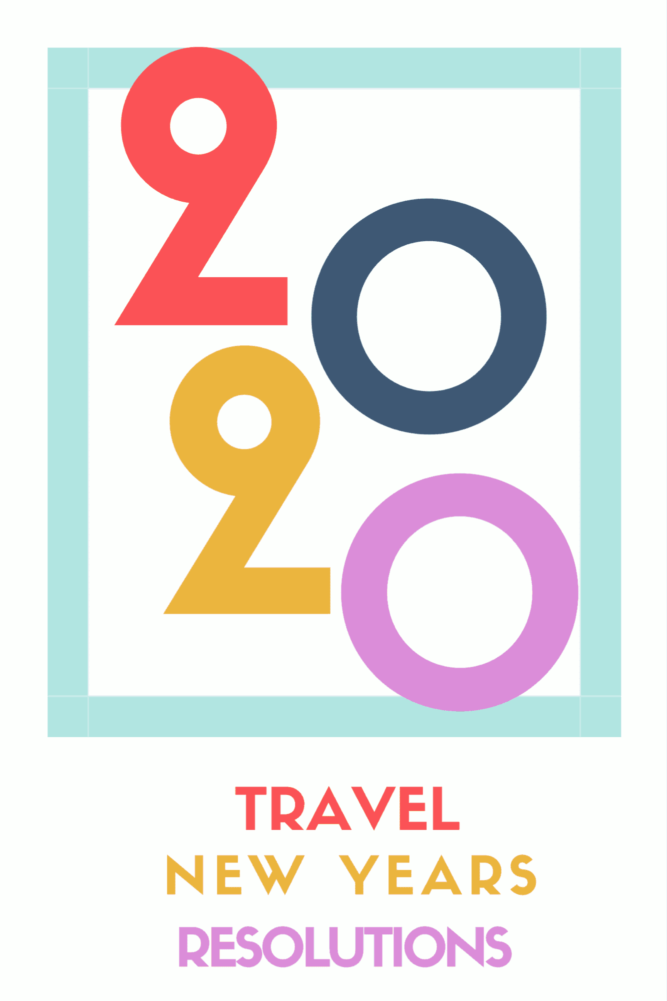Travel New Years Resolutions