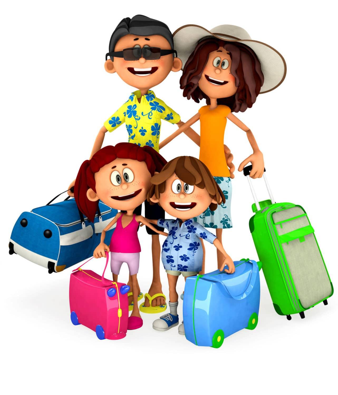 Tips Family Travel Clip Art
