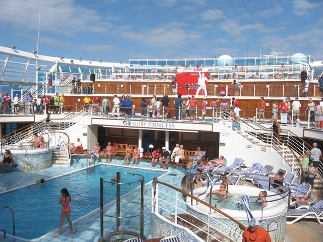 Vow renewal cruises on Princess