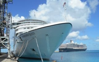 Seabourn Quest in Barbados
