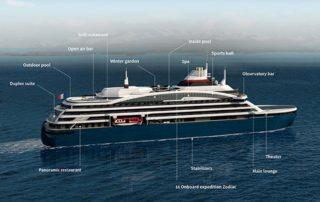 Ponant Hybrid Electric Polar Vessel