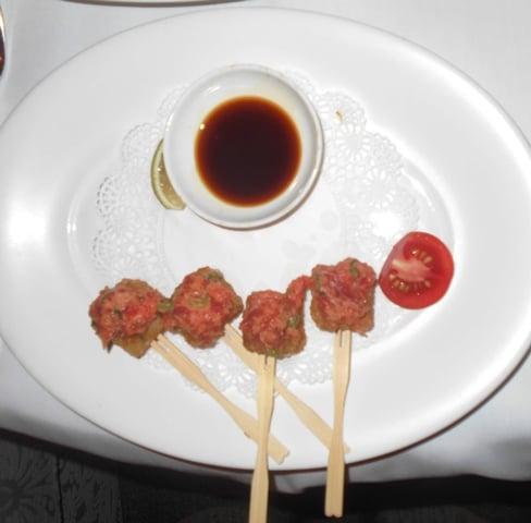 Crystal Cruises Nobu dining