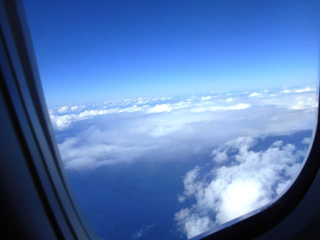 View from Delta 777 window