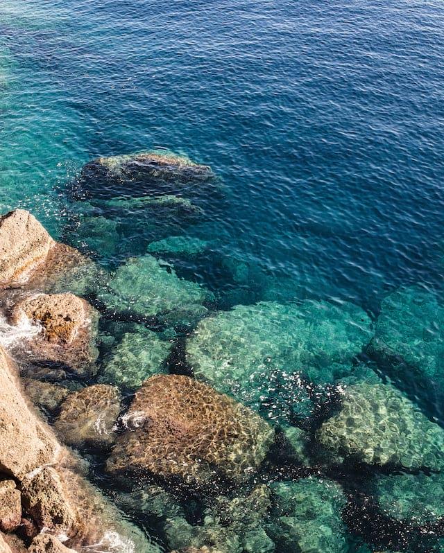 Pristine waters of Portofino