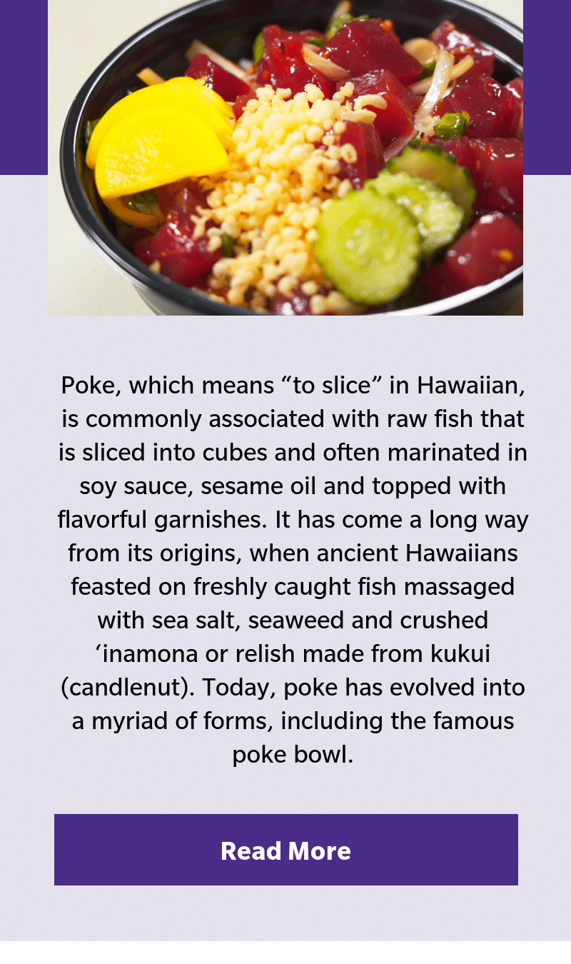 Hawaiian Airline shares love of poke
