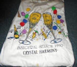 Crystal Harmony souvenirT-shirt