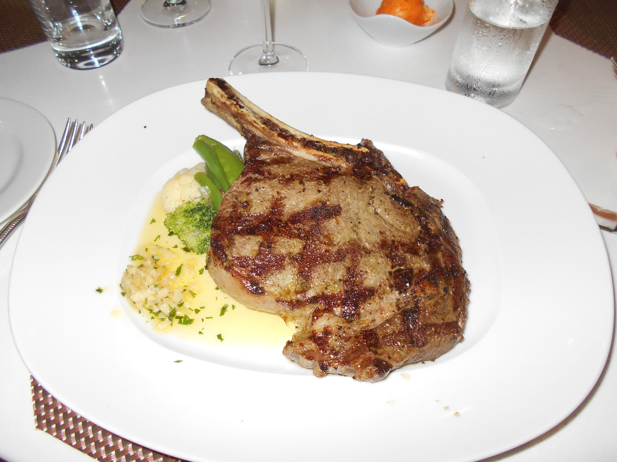 Food on Seabourn Quest