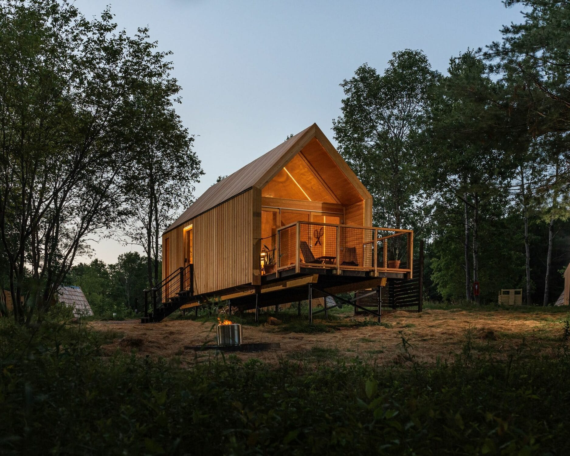 Glamping in the Catskills