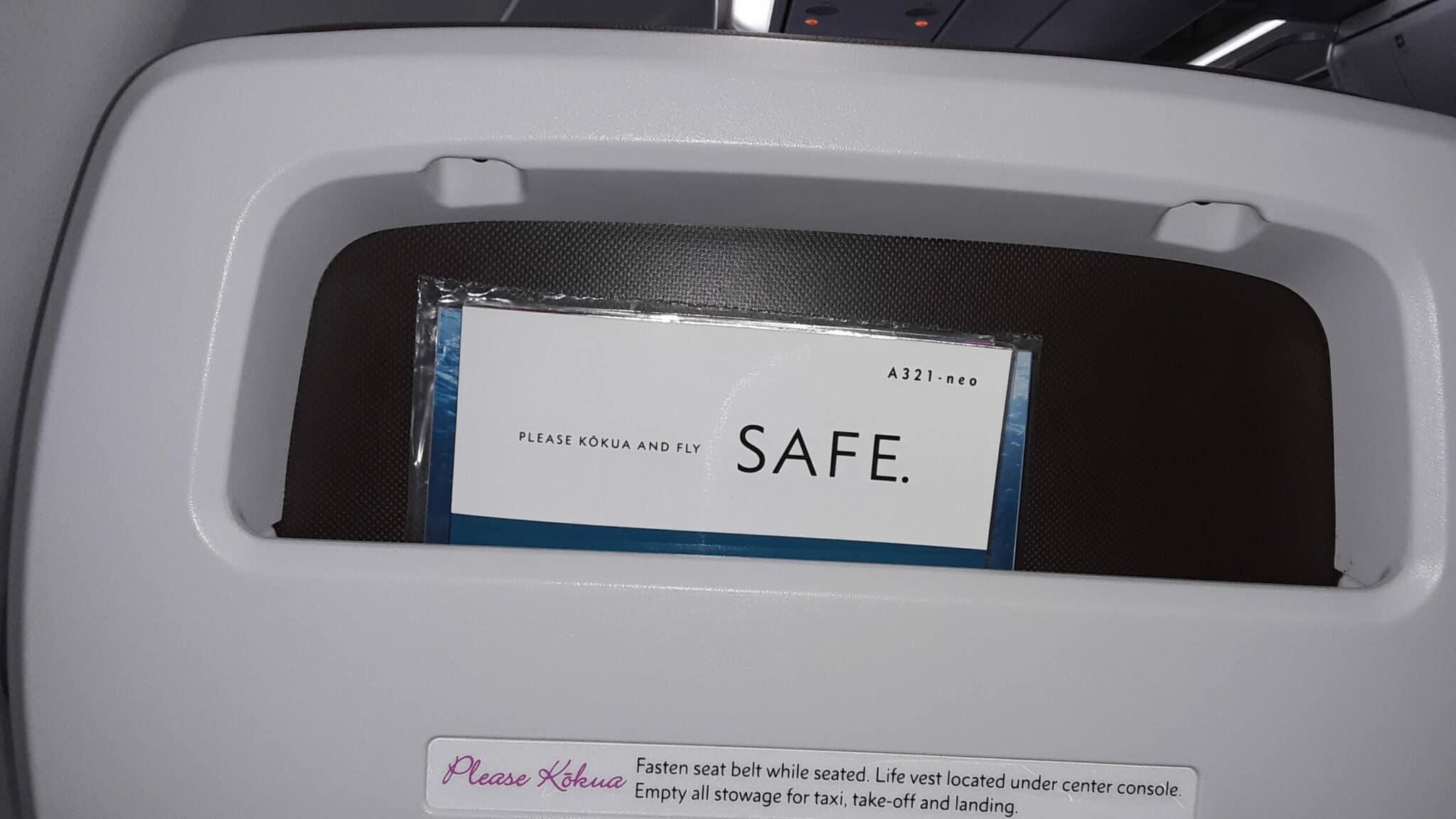 Hawaiian Airlines flight to Maui
