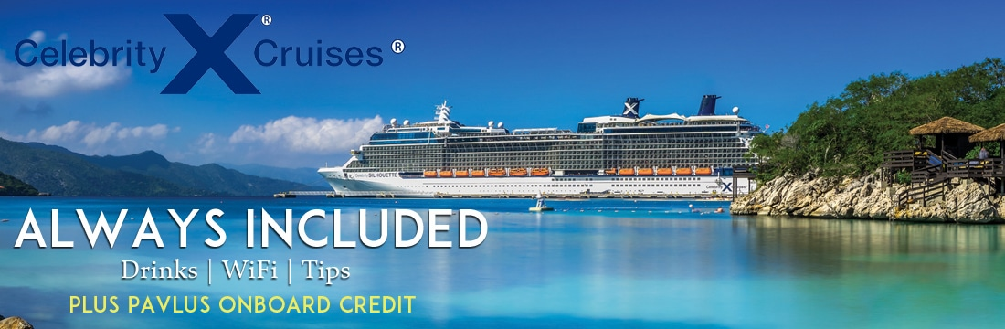 Celebrity Cruises new Always Included faress