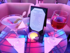 Free drinks on Celebrity Cruises