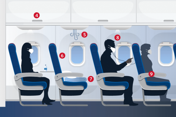Delta Airlines raises the bar on cleanliness