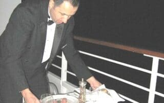 Crystal Cruises penthouse butlers