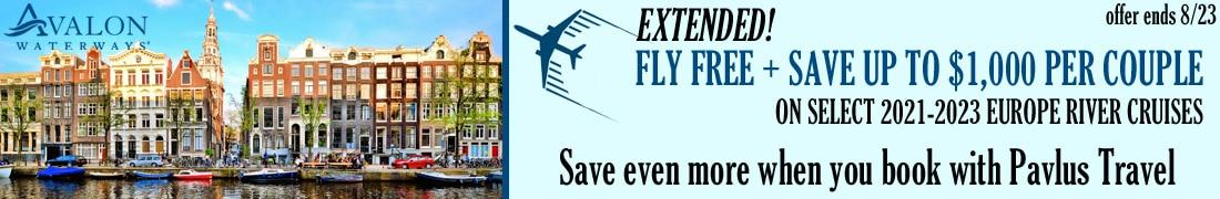 Avalon Free Air + Savings