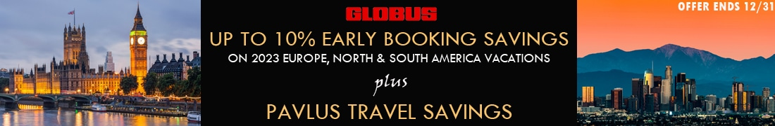 Globus 2023 Early Booking