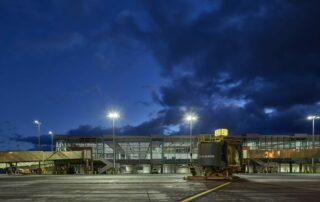 New terminal at Honolulu airport