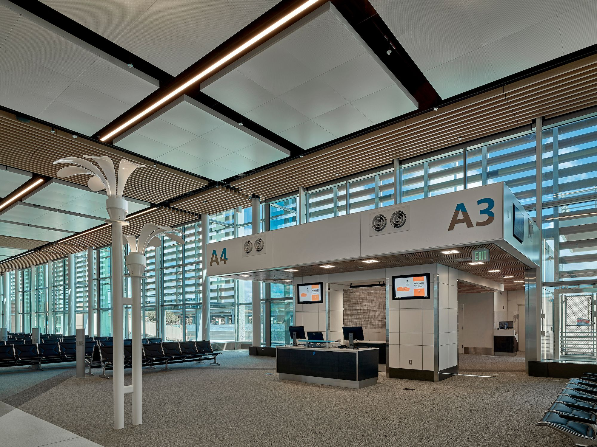 New Honolulu Airport terminal