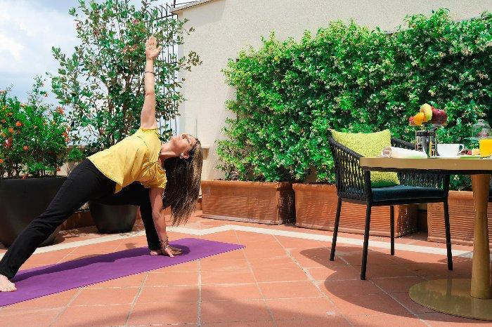 Yoga in Rome